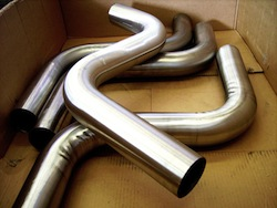 motor exhaust pipe polishing
